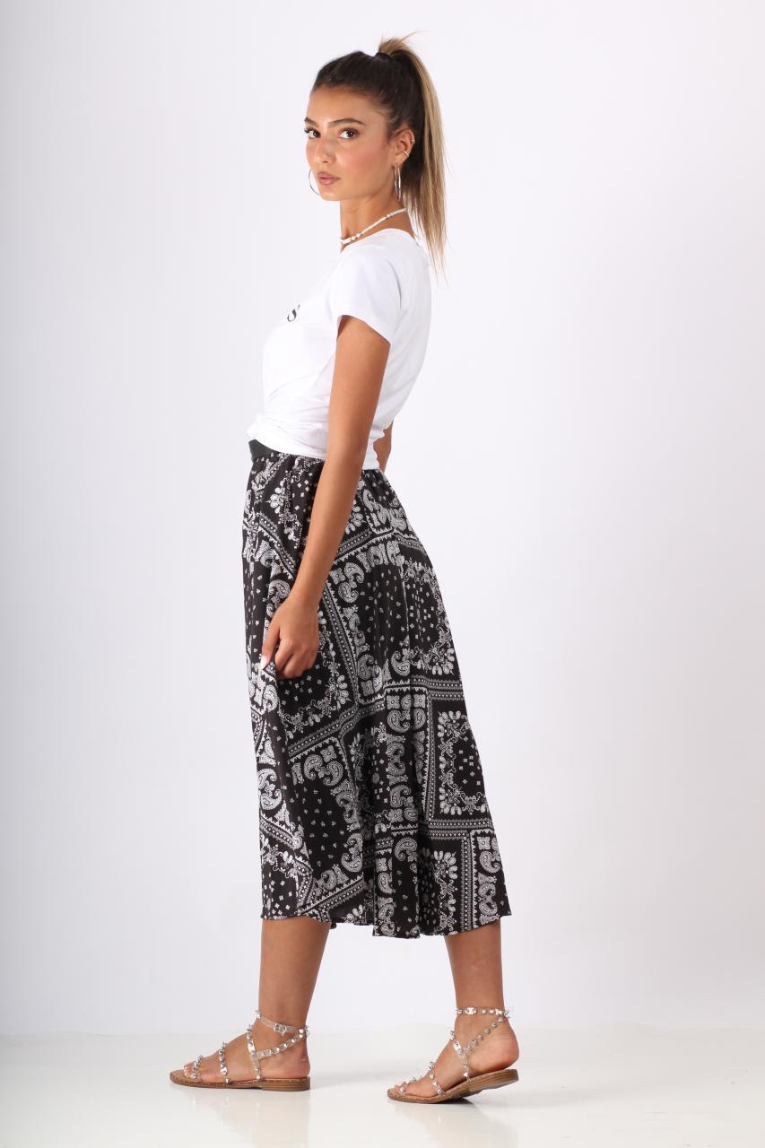 חצאית בנדנה + חגורה