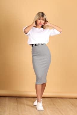 חצאית ריפ גומי