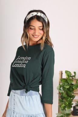 חולצת בייסיק LONDON